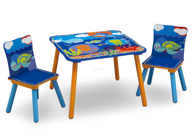 9e97cbccf4a6 Detský stôl so stoličkami Oceán