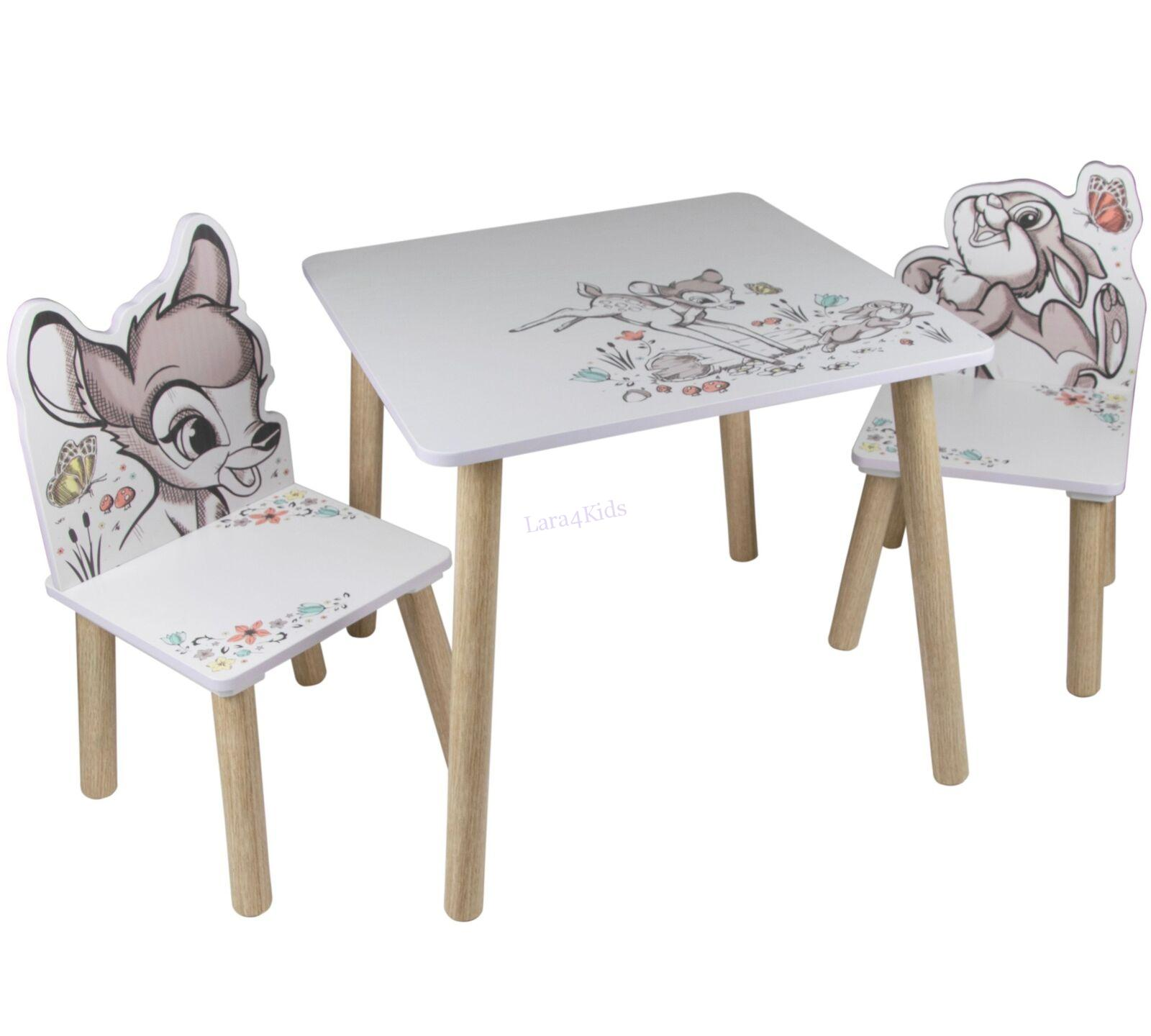 be35a9aa7851 Detský stôl so stoličkami Bambi